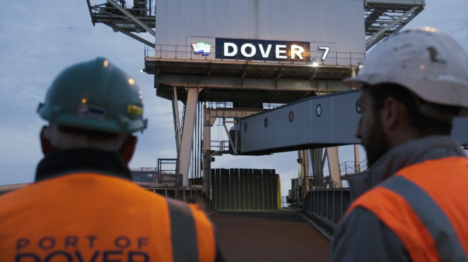Beegrip - Advanced surface coatings. Trusted by the global supply chain. A short cinematic film documenting the resurfacing of a linkspan at The Port of Dover, England