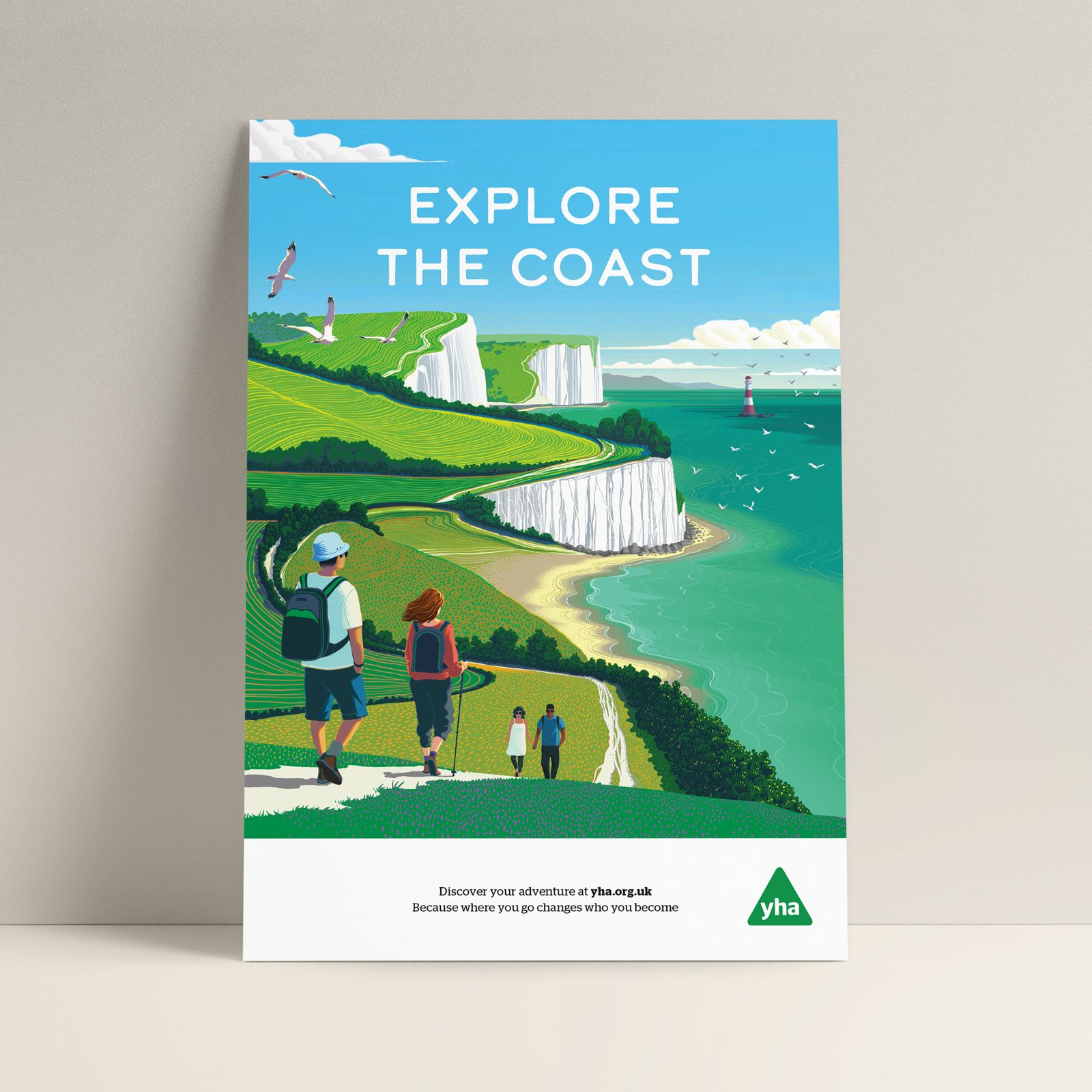 New Poster Series for The YHA